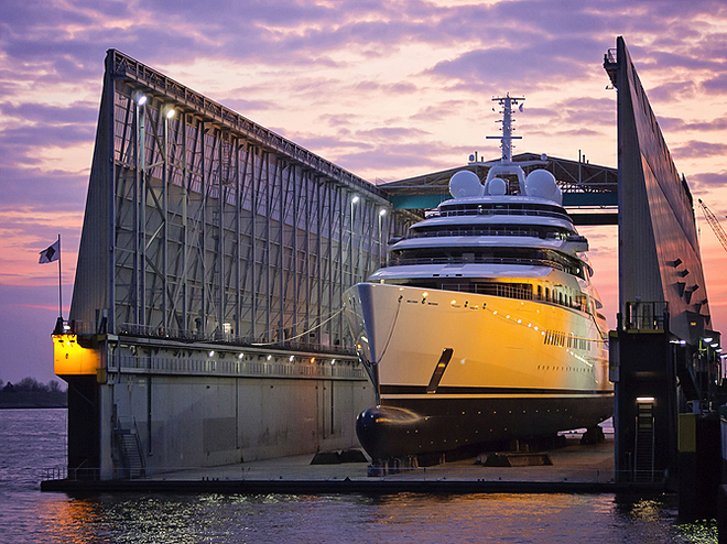 Хозяева морей: самые длинные и красивые яхты мира
