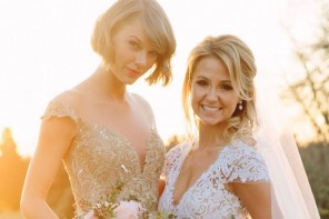 Taylor Swift was the maid of honor