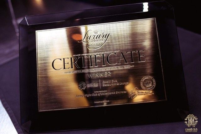 Diamond Winner's Certificate