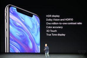 Apple презентовала флагман iPhone X