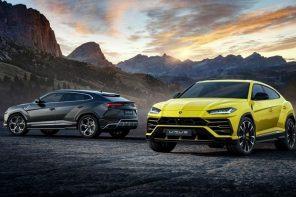 Lamborghini представила быстрейший в мире кроссовер