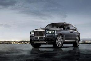 Дебют кроссовера Rolls-Royce Cullinan