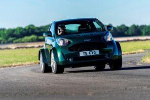 Aston Martin показал сверхмощный хэтчбек Cygnet