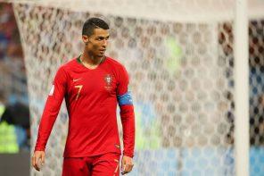 Криштиану Роналду ушел из «Реала»
