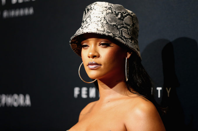 Fenty Beauty by Rihanna Anniversary Event - Arrivals