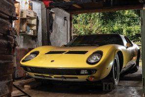 Забытую Lamborghini 1969 года продали за $1,6 млн