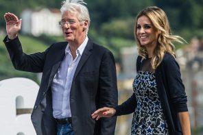 70-летний Ричард Гир станет отцом в третий раз