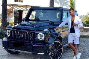Роналду показал роскошный Mercedes